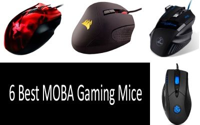 top of the best moba mice