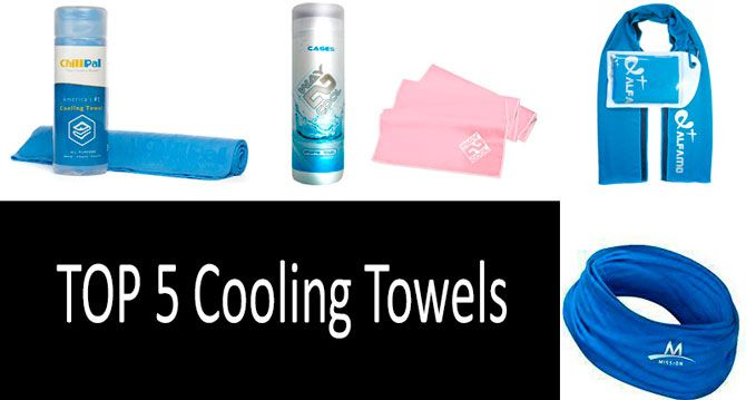 Cooling towels: photo