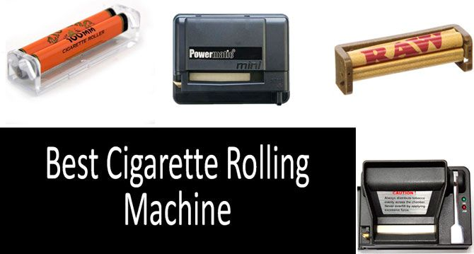 TOP-5 Best Cigarette Rolling Machines in 2019 from $3 to $64