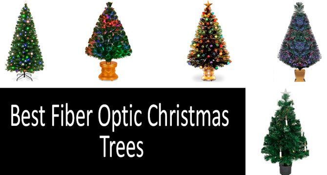 fcafaf8ff64 TOP-8 Best Fiber Optic Christmas Trees in 2019 from  40 to  100