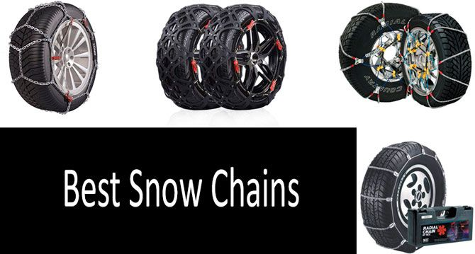 Top 5 Best Snow Chains In 2019 From 28 To 116