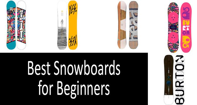 72caf3977d TOP-10 Best Snowboards for Beginners in 2019 from $130 to $420