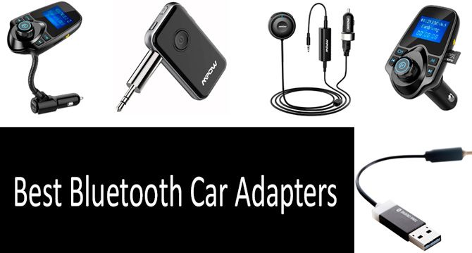 TOP 5 Best Bluetooth Car Adapters | Buyer's Guide 2019