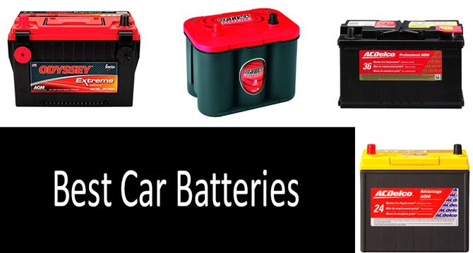 TOP 5 Best Car Batteries For Any Vehicle