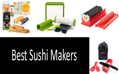 5 Best Sushi Makers from $7 to $29 | For Amateurs and Professionals Alike | Buyer's Guide