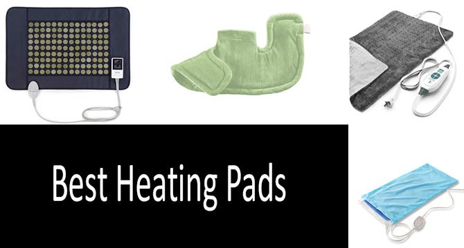 14 Best Heating Pads 2019: For Warming and Animals Treatment
