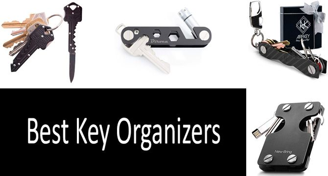 TOP 12 Best Key Organizers | No More Jingles in the Pockets: Organize Your Keys in a Compact Fashion | Buyer�s Guide 2019