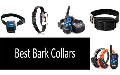 Best Bark Collars min: photo