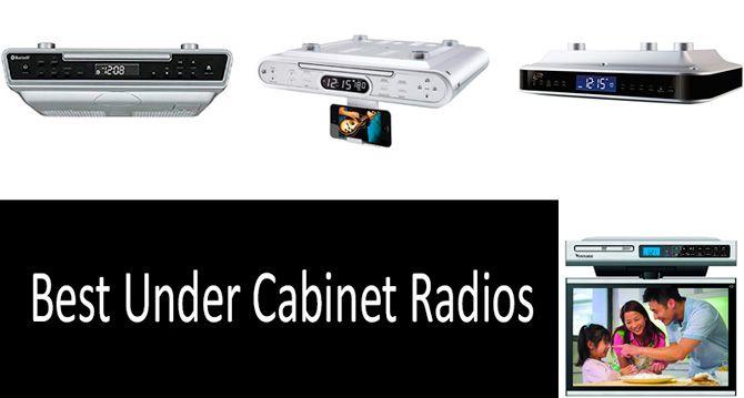 TOP 5 Best Under Cabinet Radios | Buyer\'s Guide 2019