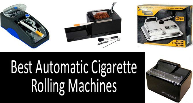 Best Electric Cigarette Rolling Machine 2019 TOP 5 best automatic cigarette rolling machines in 2019 from $20 $80