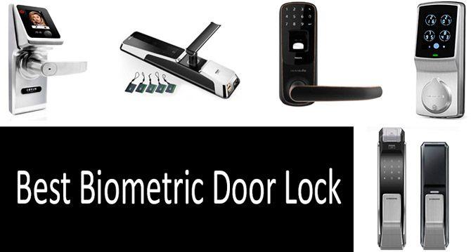 TOP-7 best biometric door locks in 2019 from $150 to $550 | Buyer's