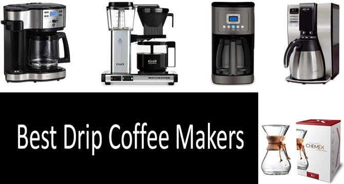 Best Drip Coffee Makers: photo