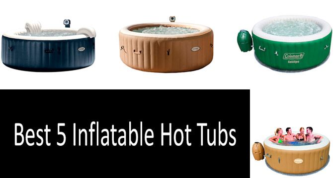 Best Inflatable Hot Tubs: photo