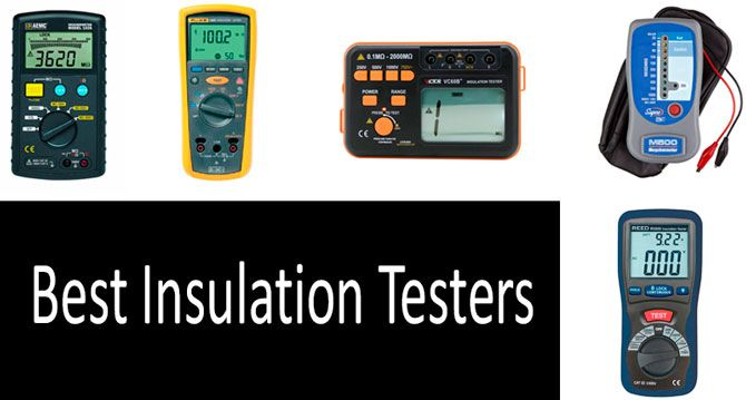 Best Insulation Testers: photo