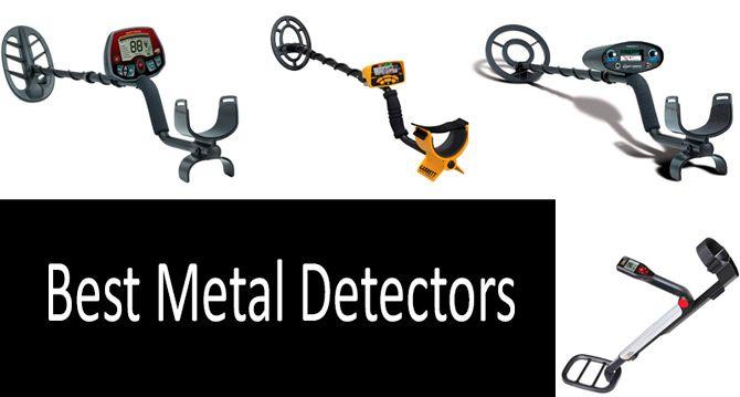 TOP 5 Best Metal Detectors | Buyer's Guide 2019