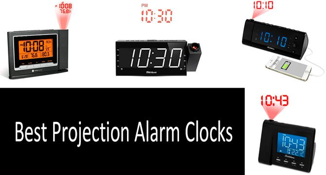 Best Projection Alarm Clocks: photo
