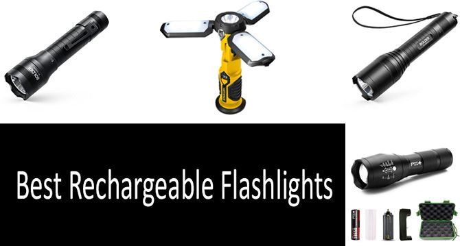 Best Rechargeable Flashlights: photo