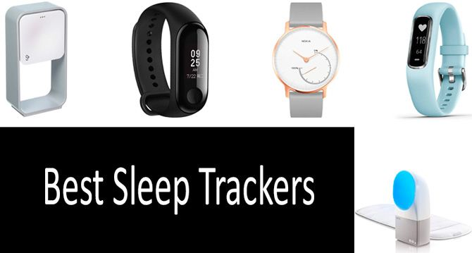 TOP-11 Best Sleep Trackers in 2019 from $30 to $200