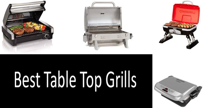 Best Table Top Grills: photo
