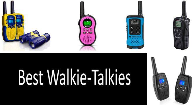 Best Walkie-Talkies: photo