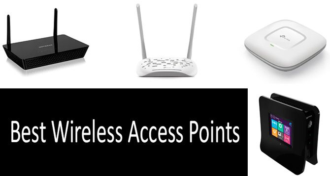 TOP 6 Best Wireless Access Points | Buyer's Guide 2019