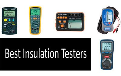 Best Insulation Testers min: photo