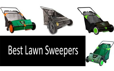 Best Lawn Sweepers min: photo
