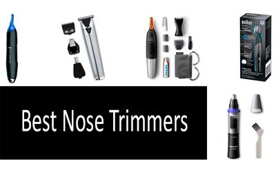 Best Nose Trimmers min: photo