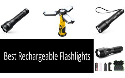 Best Rechargeable Flashlights min: photo