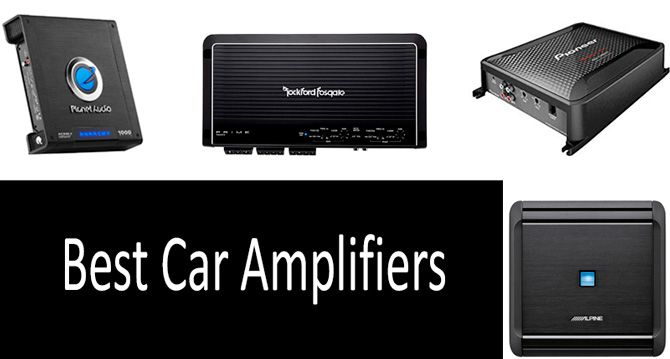 TOP-5 best car amplifiers in 2019 from $50 to $150 | Buyer's Guide