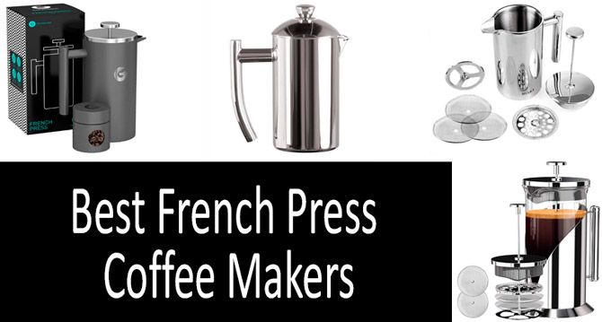Best French Press Coffee Makers: photo