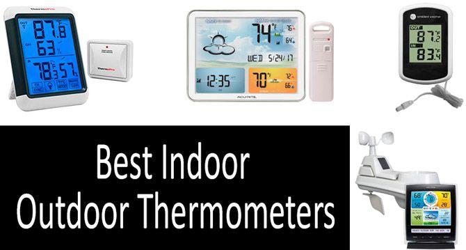 Best Indoor Outdoor Thermometers: photo