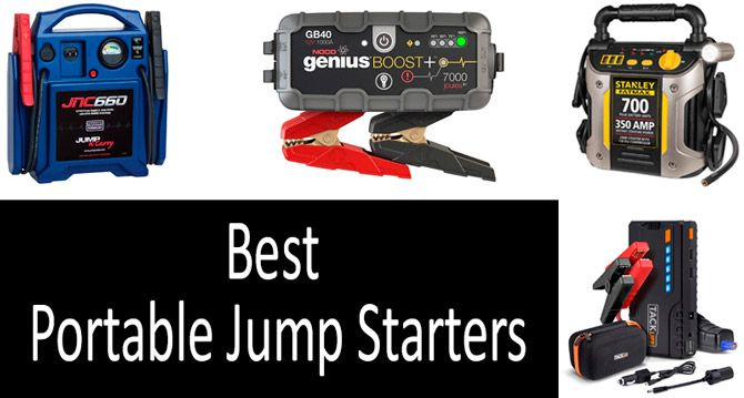 Best Portable Jump Starters: photo
