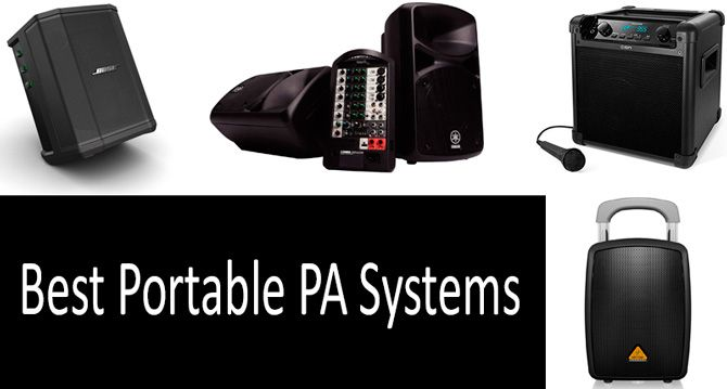Best Portable PA Systems: photo