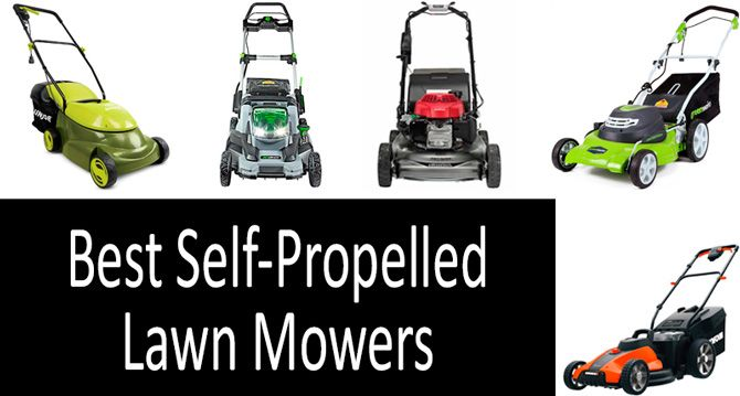 Best Self-Propelled Lawn Mowers: photo