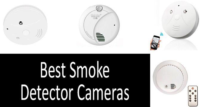 Best Smoke Detector Cameras: photo