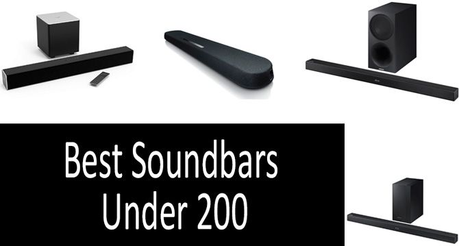 Best Soundbars Under 200: photo