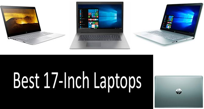 Best 17-Inch Laptops: photo