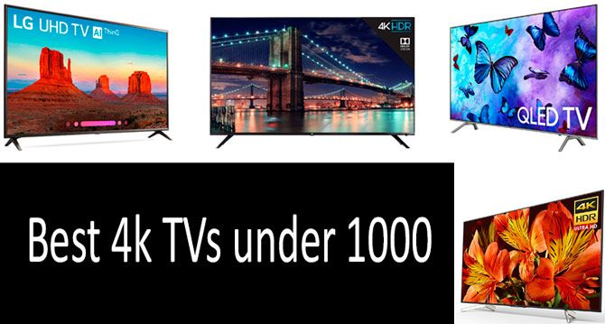 Best 4k Tv Under 1000 2019 TOP 5 best 4k TVs in 2019 from $300 $980 | Buyer's Guide