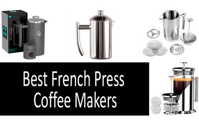 Best French Press Coffee Makers min: photo