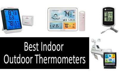 Best Indoor Outdoor Thermometers min: photo