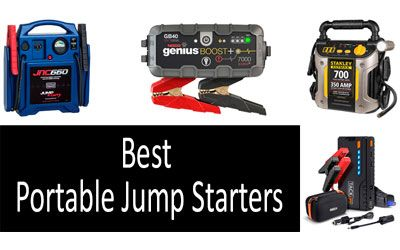 Best Portable Jump Starters min: photo