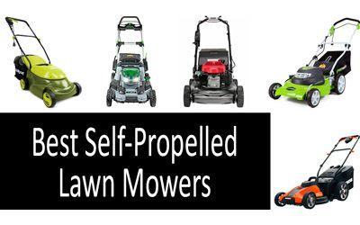 Best Self-Propelled Lawn Mowers min: photo