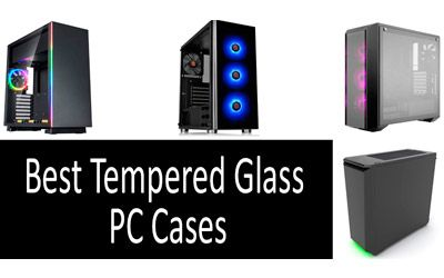 Best Tempered Glass PC Cases min: photo