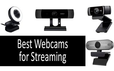 Best Webcams for Streaming min: photo