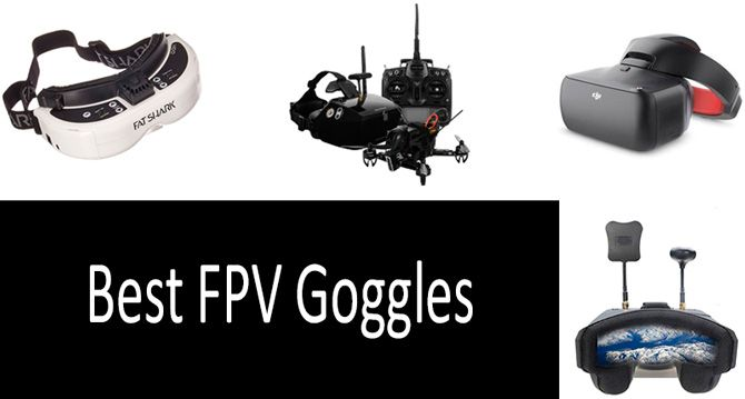 Best FPV Goggles: photo