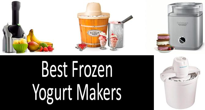 Best Frozen Yogurt Makers: photo