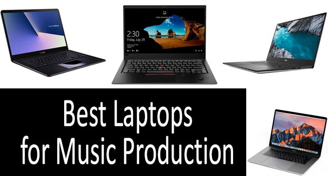 Best Laptops for Music Production: photo