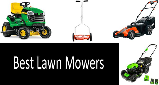 Best Lawn Mowers: photo