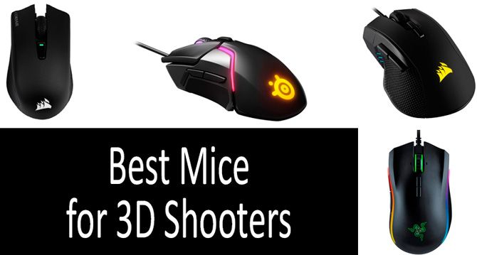 Best Mice for 3D Shooters: photo